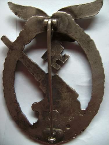 Medal luftwaffen Flack
