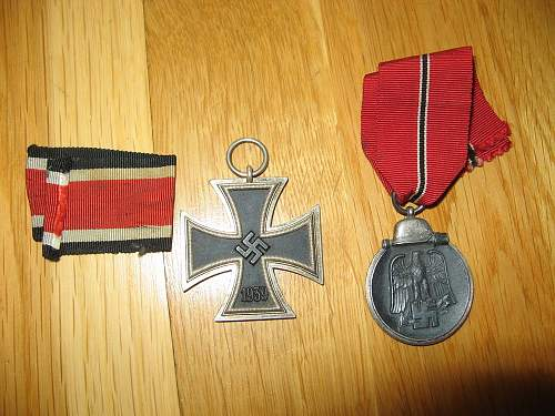 Original decorations of German ww2 officer - what do you think?