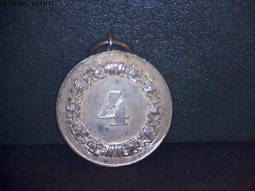 Army Four Year Service Medal, what do you guys think!!!