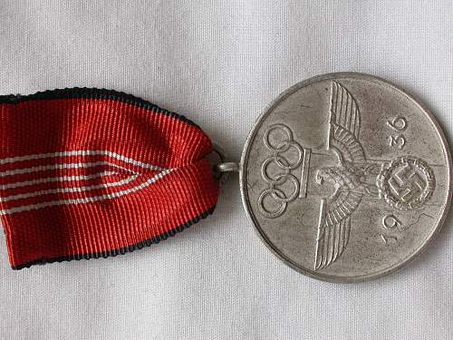 drl/sa sports badges & olympic medals