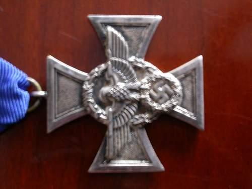 Treuedienst-Ehrenzeichen & Police Long service cross