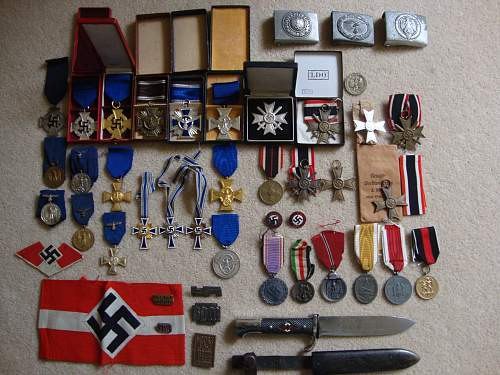Medal collection update