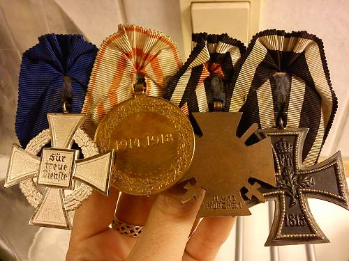 Medal bar: What do I have?