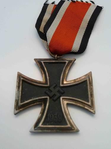 Lot of german medals.