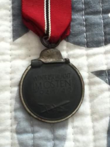 Winterschlact Imosten/ Frozen Meat Order Medal