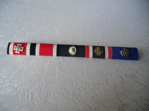 Mini's 1957 Ritterkreuz mit Eichenlaub & Schwerten / Navy wound badge???