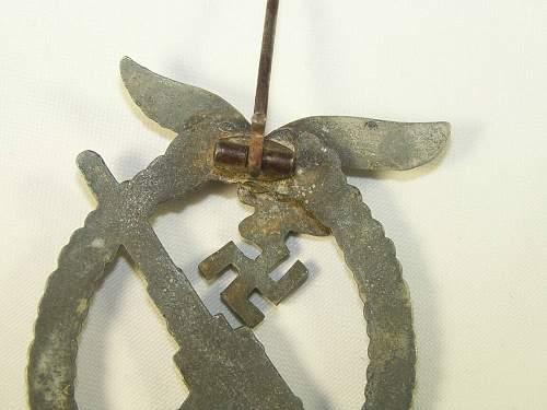 Badge - Flakkampfabzeichen