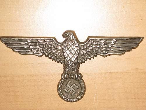 Reichsadler Badge Found in Buenos Aires
