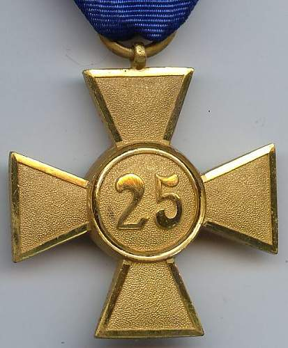 My service medals
