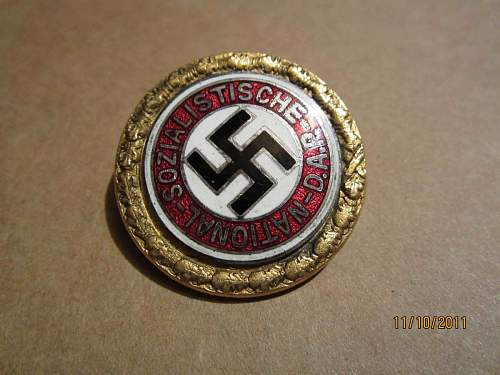Real or fake medals and badges