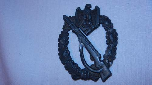 German veteran's items given to me.