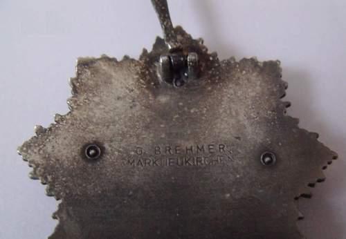 Deutsche Kreuz im Silber. Real or fake?