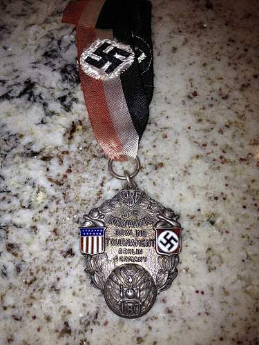 Any info on this German--USA Medal/award would be appreciated....