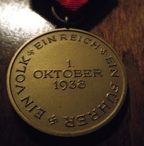 Sudetenland Medal