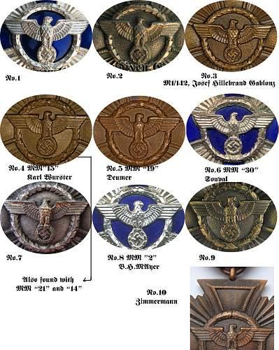 NSDAP Bronze