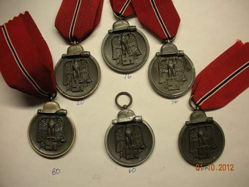 More Ostmedaille additions