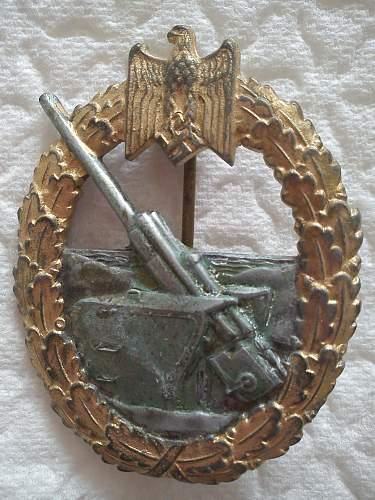 My Kriegsmarine Kriegsabzeichen