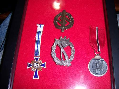 how do you store/display your medals? Please help.