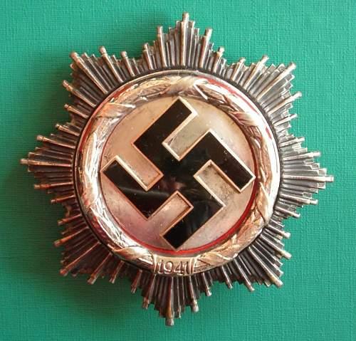 Deutsche Kreuz im Silber: Real?