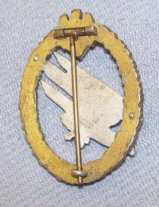 2 Heer Falschirmjager badges: please provide opinions as to their originality