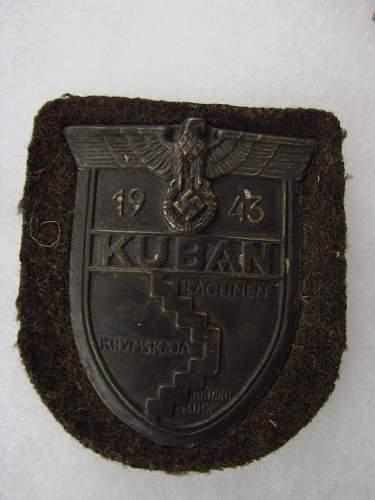 """Guaranteed Original"" Kuban Schild????"