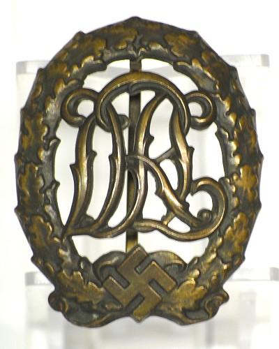 DRL Sportabzeichen in Bronze.