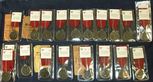 Small Ostmedaille collection