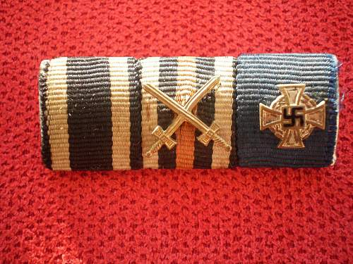 2 WW II Ribbon bar