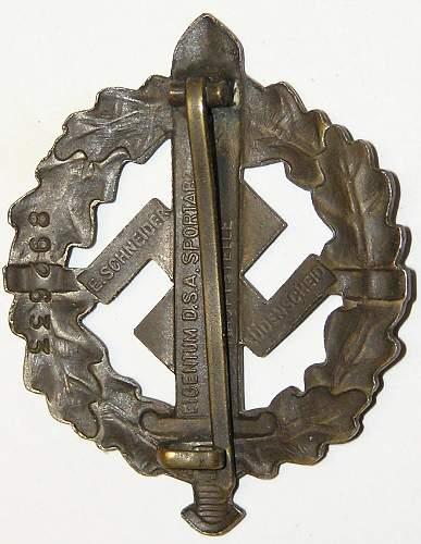 Authentic SA Badge?