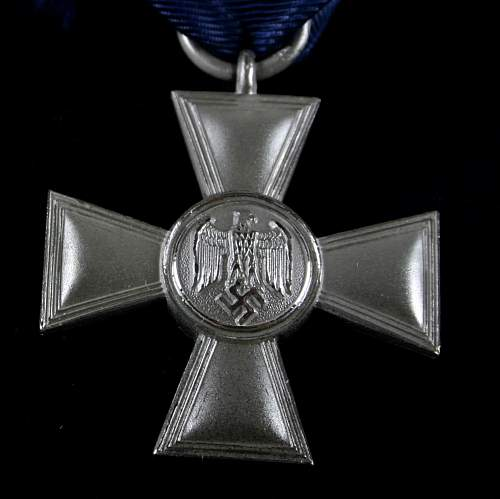 18 yrs service medal question