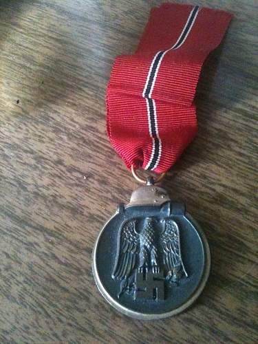 My small medal collection