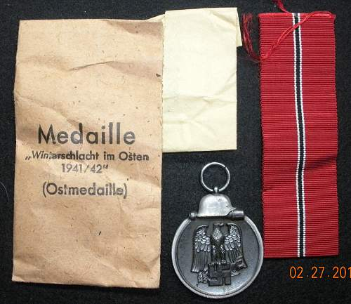 Click image for larger version.  Name:Ostmedaille 1 Obverse.jpg Views:260 Size:252.5 KB ID:313210