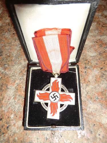 Reichsfeuerwehr-ehrenzeichen