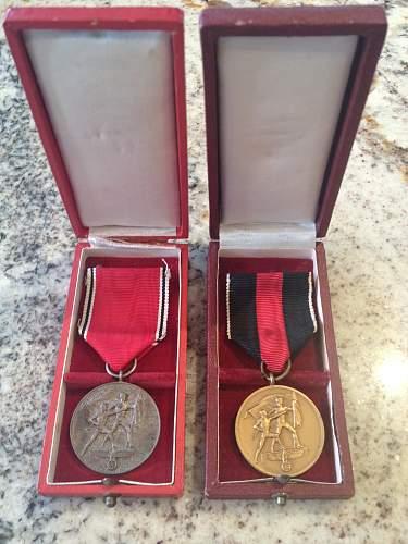 The March 13, 1938 Commemorative Medal (Die Medaille zur Erinnerung an den 13. Marz 1938)