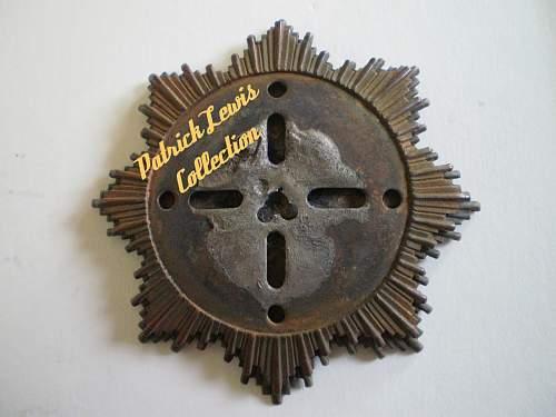 Relic Deutsche Kreuz in Gold