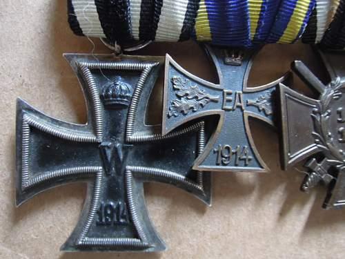 Click image for larger version.  Name:EKII-1914Braunschweig-KVKIIFrontkämpfer-Treudienst-Ehrenzeichen für 25 Jahre (obverse .JPG Views:48 Size:188.0 KB ID:320842