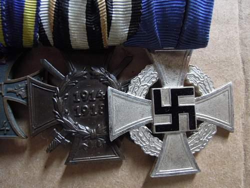 Click image for larger version.  Name:EKII-1914Braunschweig-KVKIIFrontkämpfer-Treudienst-Ehrenzeichen für 25 Jahre (obverse .JPG Views:52 Size:184.0 KB ID:320843