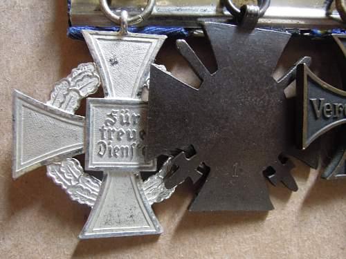 Click image for larger version.  Name:EKII-1914Braunschweig-KVKIIFrontk�mpfer-Treudienst-Ehrenzeichen f�r 25 Jahre (reverse .JPG Views:28 Size:184.8 KB ID:320845