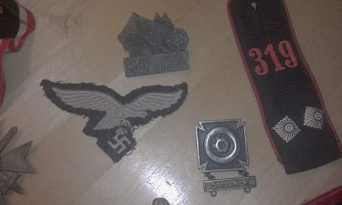 My German/American Medal WWII Haul