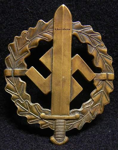 Silver SA-Wehrabzeichen