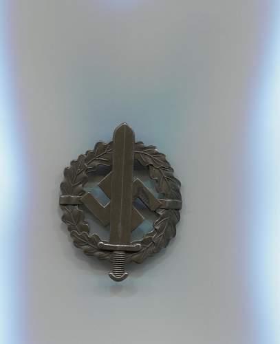 Bronzes SA-Sportabzeichen by Berg & Nolte