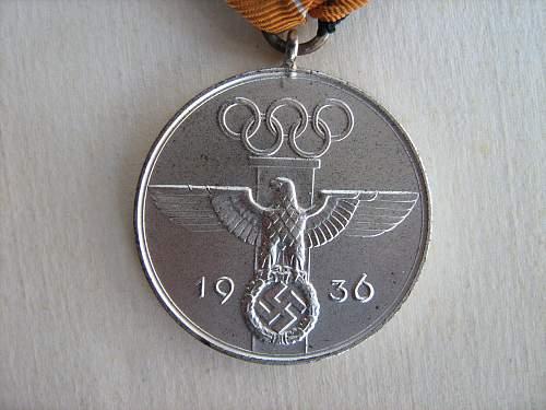 OLYMBISCHEN SPIELEN Medal