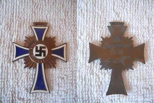 Click image for larger version.  Name:Mutterkreuz Bronze.jpg Views:113 Size:250.3 KB ID:336427