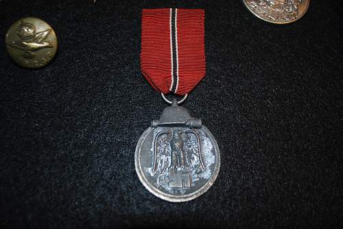 Die Medaille Winterschlacht im Osten help!