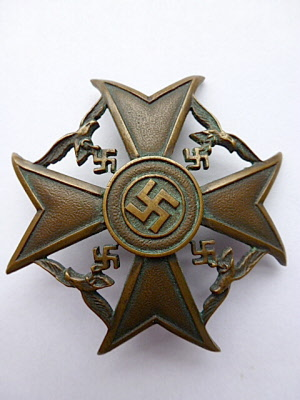 Spanienkreuz, Spanish cross.