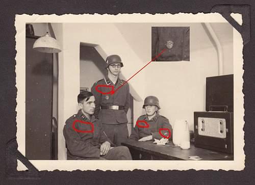 Danzig flak-badge...makers markings