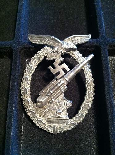 Just Picked up Two Badges, Luftwaffe, and Kriegsmarine