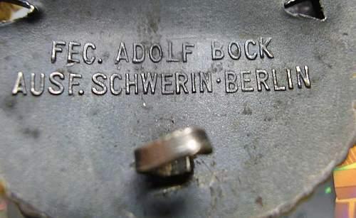Flottenkriegsabzeichen by Scherwin