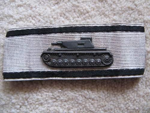 Panzervernichtungsabzeichen in Silber, opinions needed