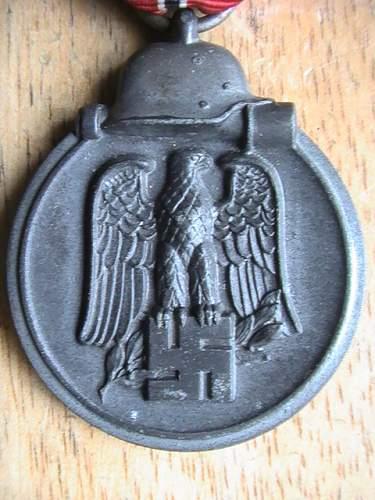 Winterschlacht Im Osten (German Russian front medal)